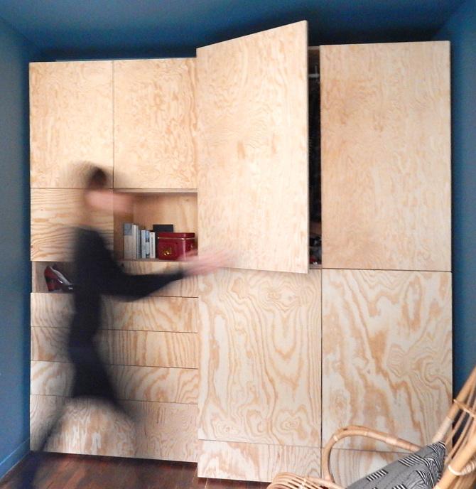 meuble sur mesure dressing juliette dorizon. Black Bedroom Furniture Sets. Home Design Ideas
